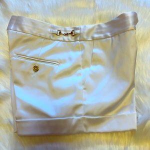 Pants - Express Design Studio white silky shorts